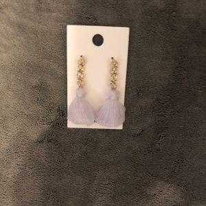 Trendy beautiful dangling earrings by Express